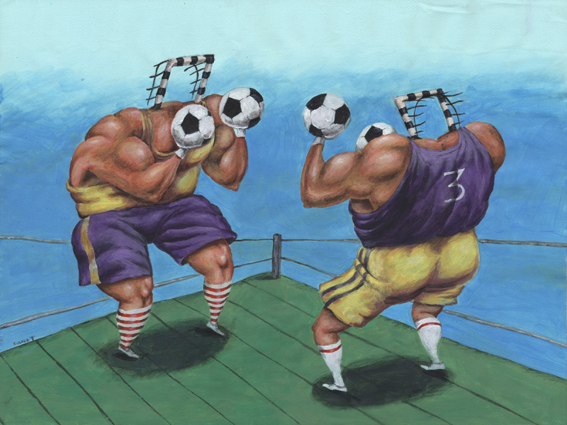 Бокс футбол Boxing Football