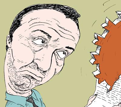 Виктор Шендерович Viktor Shenderovich темур козаев карикатура temur kozaev