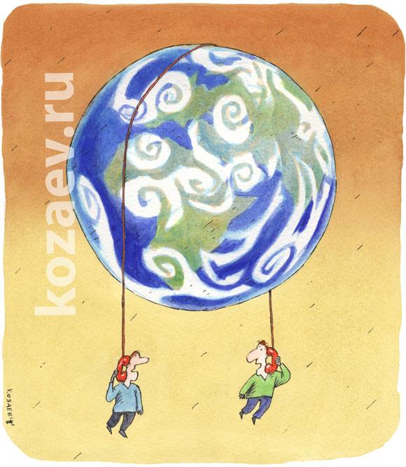 На  проводе on the wire темур козаев карикатура temur kozaev cartoon caricature