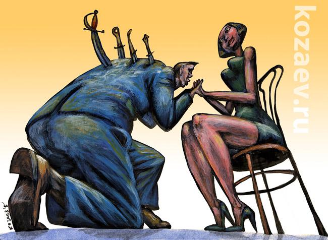 Ревность jealousy темур козаев карикатура temur kozaev cartoon caricature