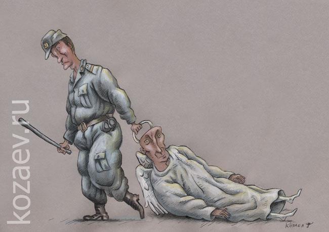закон для ангела  law for an angel темур козаев карикатура temur kozaev cartoon