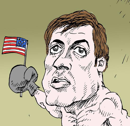 Сильвестр Сталлоне Sylvester Stallone темур козаев карикатура temur kozaev