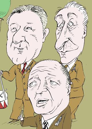 Клаус Воверайт, Бертран Деланое, Кен  Ливингстон