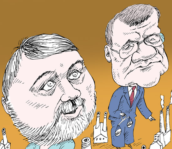 Игорь Артемьев, Юрий Чайка  темур козаев карикатура temur kozaev cartoon caricature