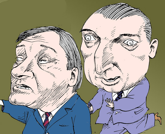 Борис Алёшин, Артяков Владимир темур козаев карикатура temur kozaev cartoon caricature