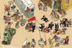 В Октябре карикатура темур тимур козаев cartoon caricature temur kozaev