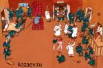 В психушке asylum карикатура темур тимур козаев cartoon caricature temur kozaev
