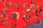 В аду In hell  карикатура темур тимур козаев cartoon caricature temur kozaev